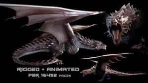 animate games 3D model