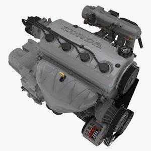 3D parts honda d16y7 1 model