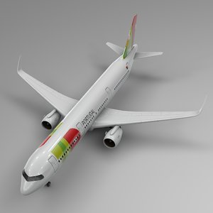 airbus a321 neo tap 3D