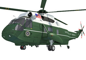 3D marine helicopter