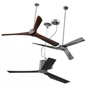 3D ventilator fans