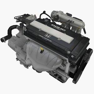 parts honda b16b 1 3D