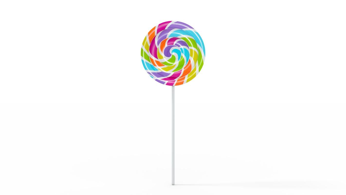 simple lollipop 3D model