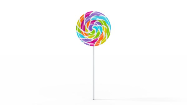 simple lollipop 3D model