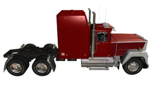 truck 389 ultra - 3D model