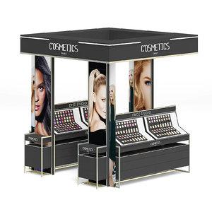 black cosmetics stand 3D model