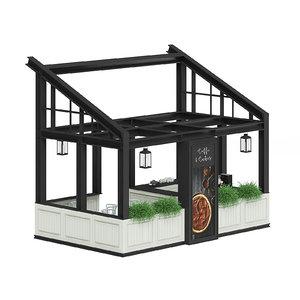 house coffee kiosk model