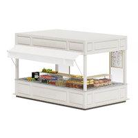 3D food stall