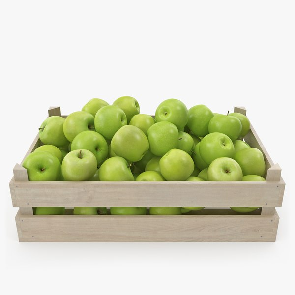 apples granny smith 02-04 3D model