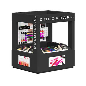 black cosmetics stall model