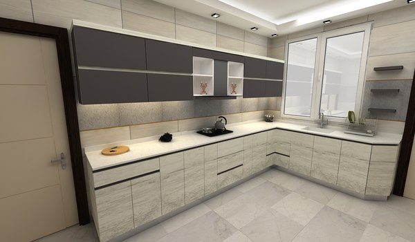 kitchen desen 3D model