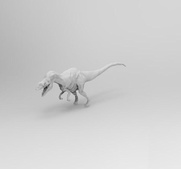 dinosaur allosaur 3D model