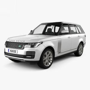 range rover autobiography 3D model