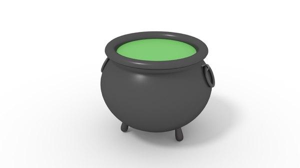 3D liquid pot
