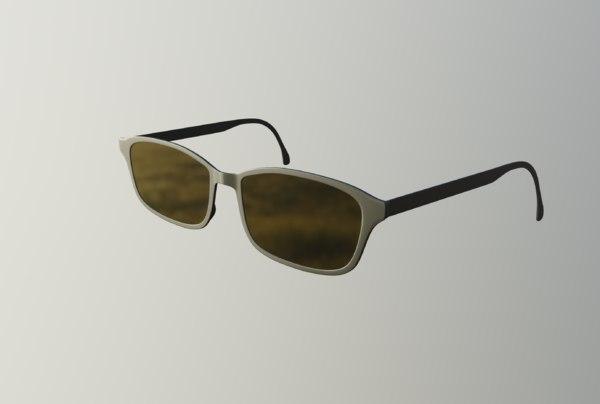 3D grey glasses