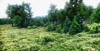 European Vegetation Pack Unity