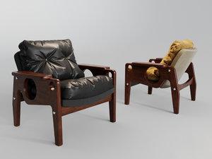 3D armchair -