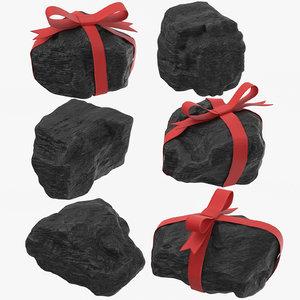 3D lumps coal