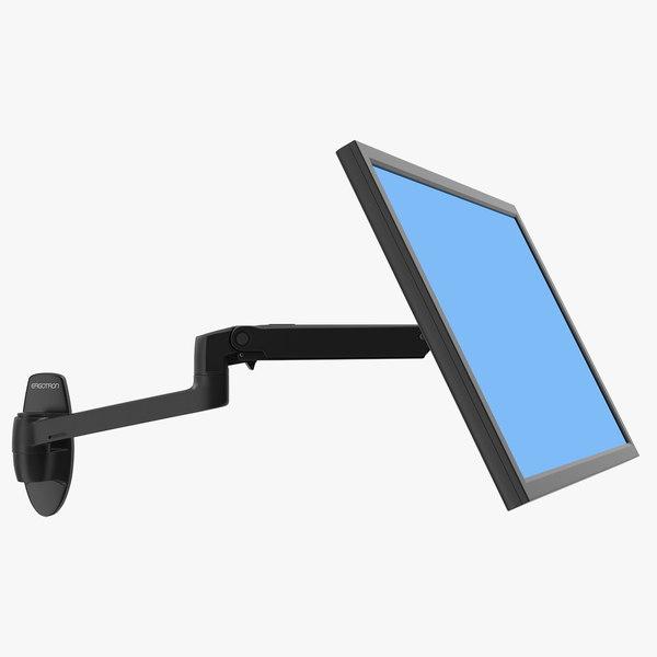 mount monitor arm ergotron 3D model