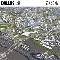 Dallas 50x50km