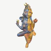 divine shiva shakti 3D model
