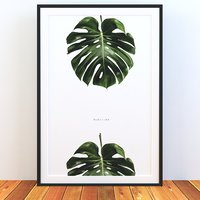 monstera frame 3D model