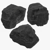 lumps coal 3D model