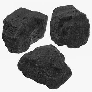 lumps coal 3D model
