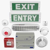 Fire alarm Set