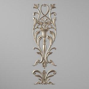 3D molding frame