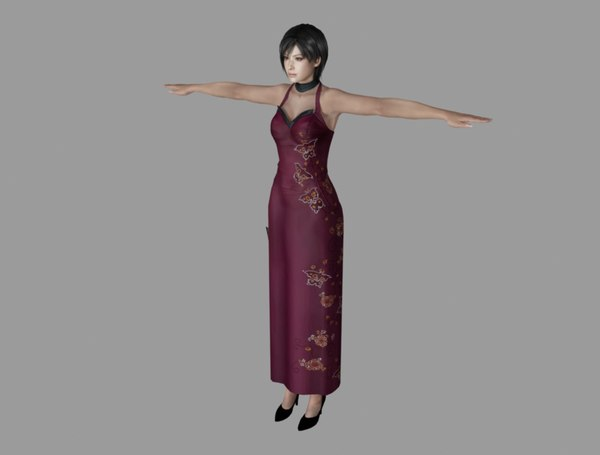 ada wong 3D model