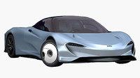 McLaren Speeedtail 2019 (Low Interior)
