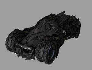3D bak batmobile mobile
