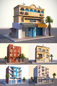 arab house pack 5 model