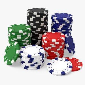 poker chips model