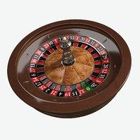 wheel roulette 3D