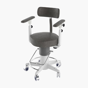 medical chair 3D