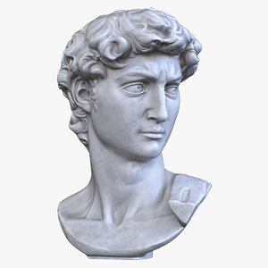 david head 3D model
