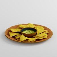 3D tortilla chips