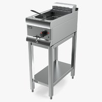 lincat df33 electric fryer 3D model