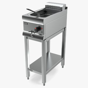 lincat df33 electric fryer 3D model
