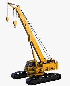 3D crane industrial