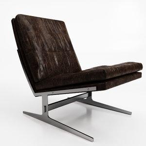 lounge chair jrgen kastholm 3D