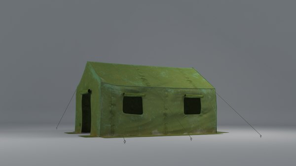 army tent 3D