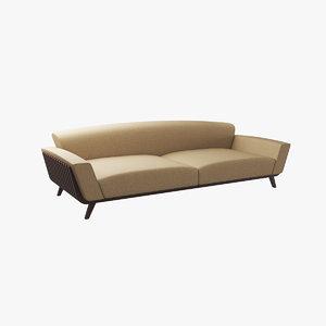 3D sofa v2 model