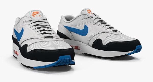 Modele 3d De Nike Air Max Sneakers Turbosquid 1443414
