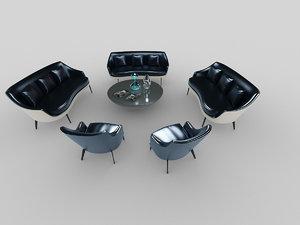 3D ligne roset sofa