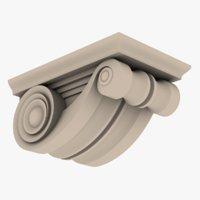 3D corbel corbel01