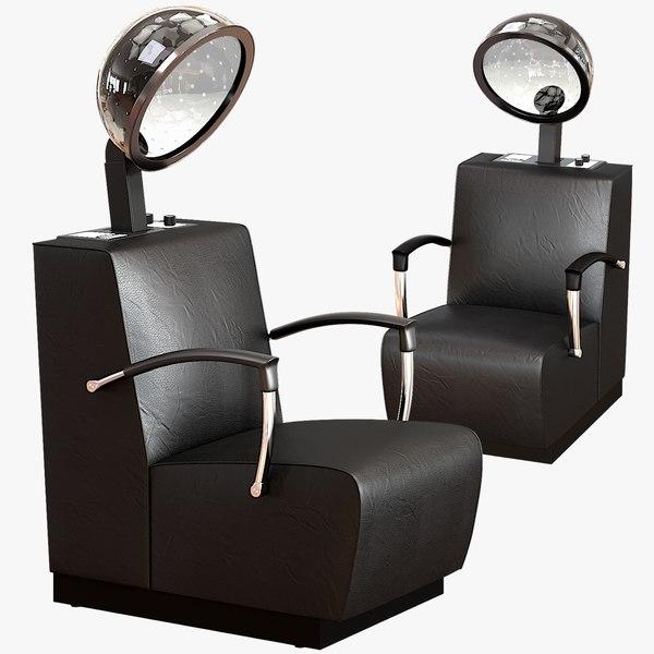3D model dryer chair