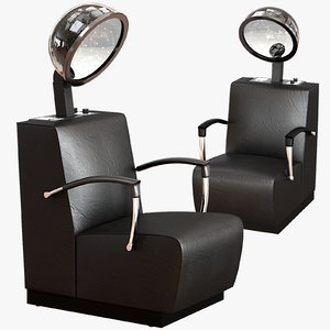 3D model dryer chair